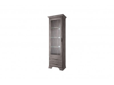 Tiffany шкаф с витриной 1V2S