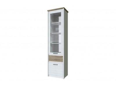 PROVENCE Шкаф с витриной  1V1D1S