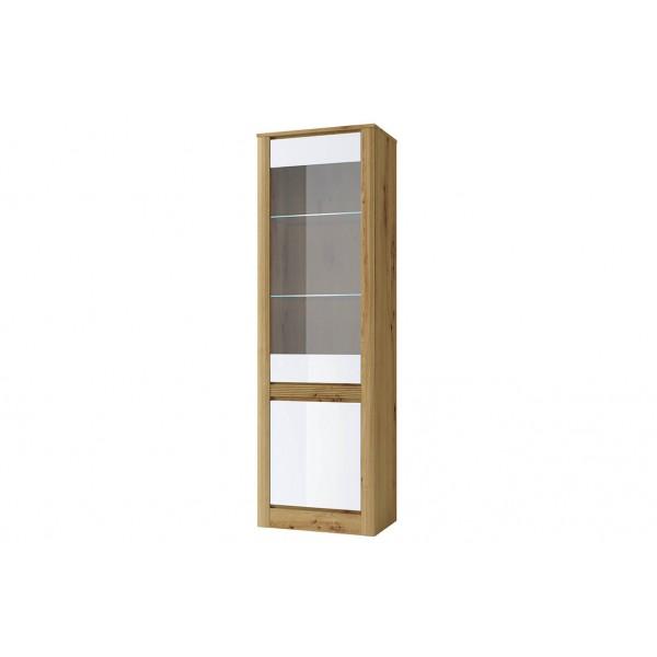 RICHE Шкаф с витриной 1V1D