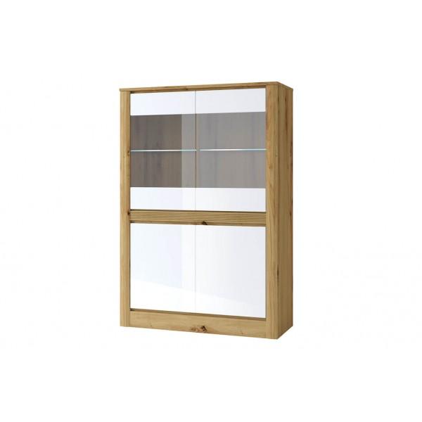 RICHE Шкаф с витриной 2V2D