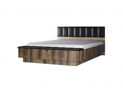 JAGGER кровать 160 с мягким изголовьем с/п + скамья приставная