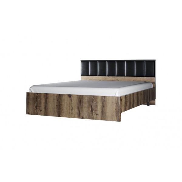 JAGGER кровать 160 с подъемником  с мягким изголовьем