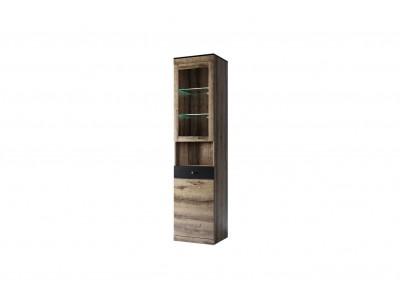 JAGGER Шкаф с витриной  1V1D2SN