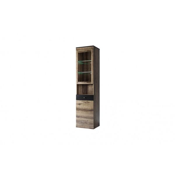 Anrex JAGGER Шкаф с витриной  1V1D2SN