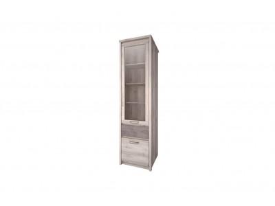 Jazz Шкаф с витриной 1V1D1S