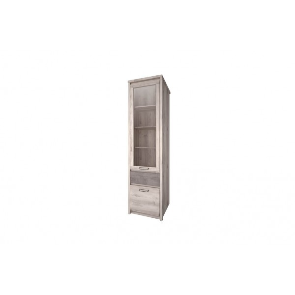Anrex Jazz Шкаф с витриной 1V1D1S