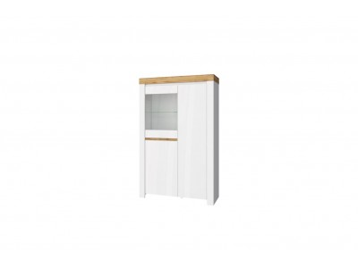 Taurus шкаф с витриной 1V2D