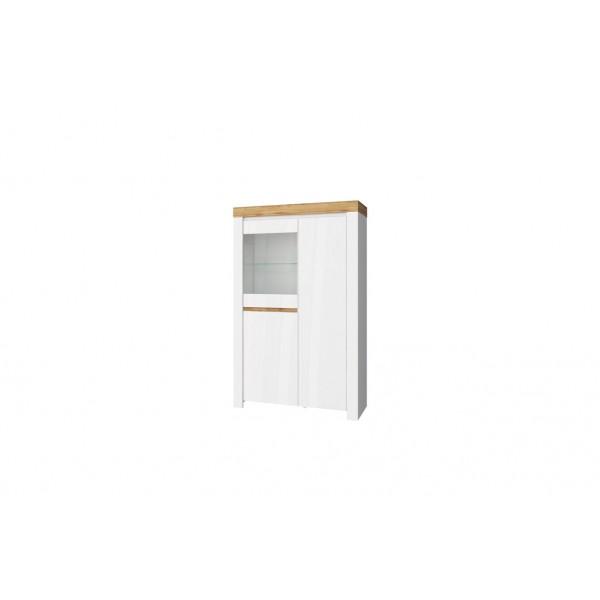 Anrex Taurus шкаф с витриной 1V2D