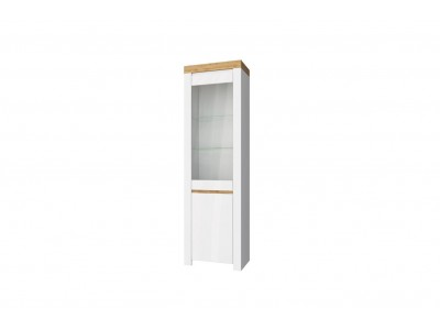 Taurus шкаф с витриной 1V1D
