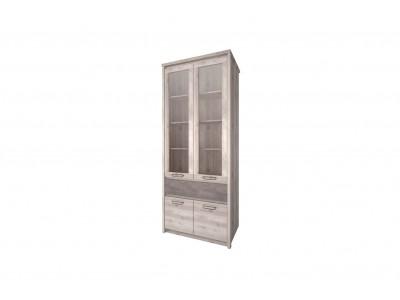 Jazz Шкаф  с витриной 2V2D1S