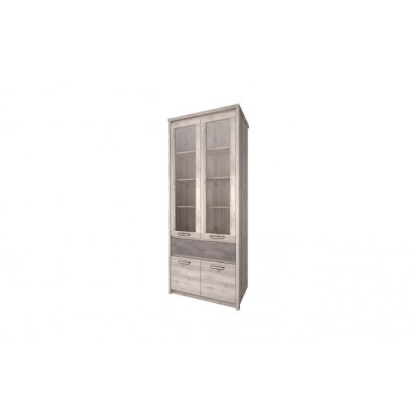 Anrex Jazz Шкаф  с витриной 2V2D1S