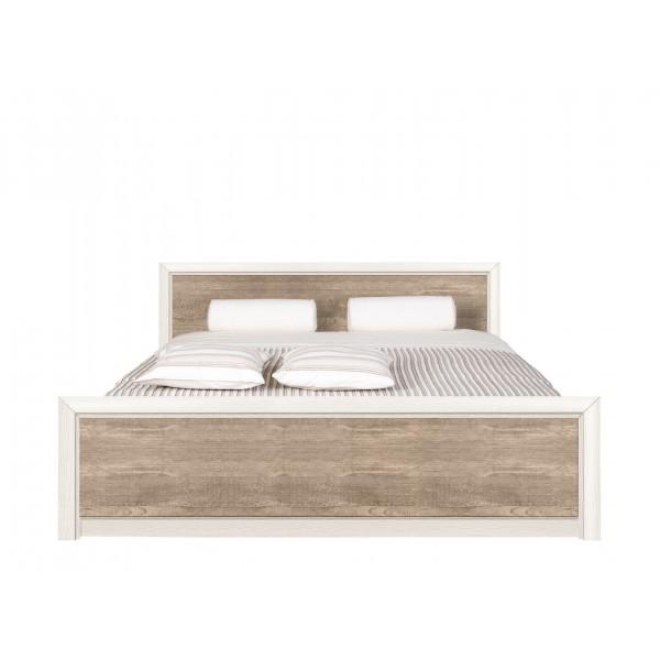 Коен кровать LOZ 160x200 с металлическим основанием ясень