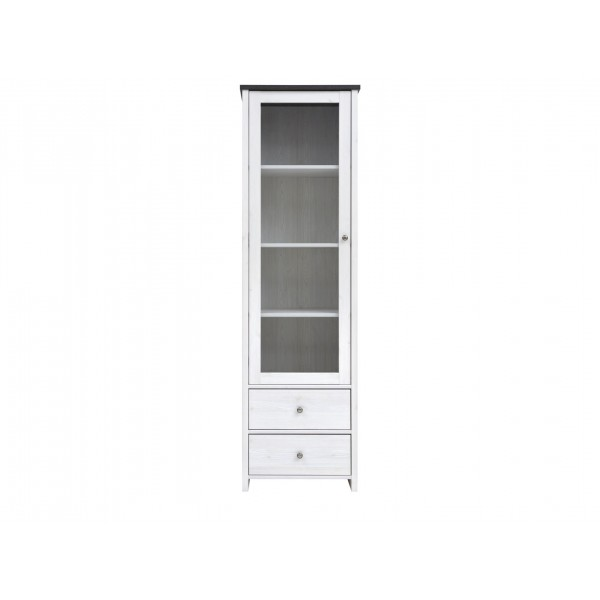 Порто Шкаф-витрина  REG1W2S