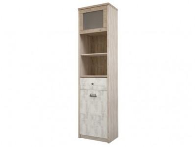 Шкаф с витриной 1V1D1S2N
