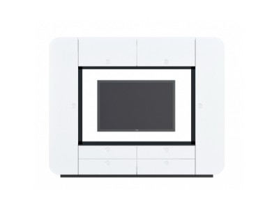 Стенка iMeb белый глянец