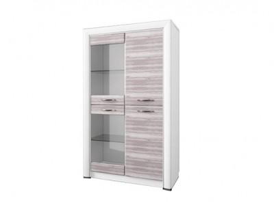 Olivia шкаф-витрина 2V2D