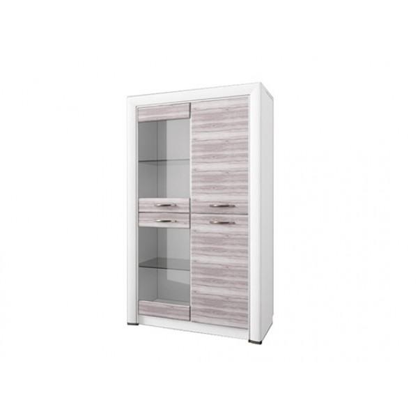 Anrex Olivia шкаф-витрина 2V2D