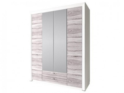 Olivia шкаф 4D2S с зеркалом
