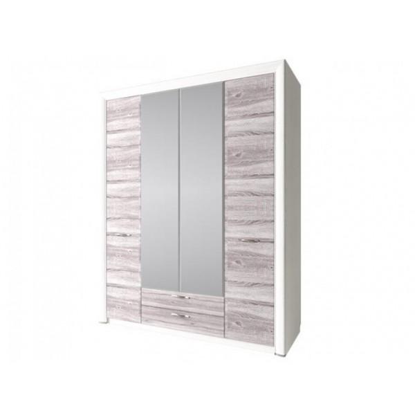 Anrex Olivia шкаф 4D2S с зеркалом