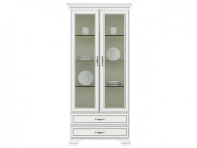 Tiffany Шкаф с витриной 2V2S