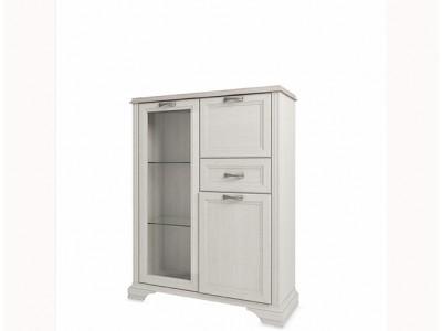 Monako шкаф с витриной 1V2D1S