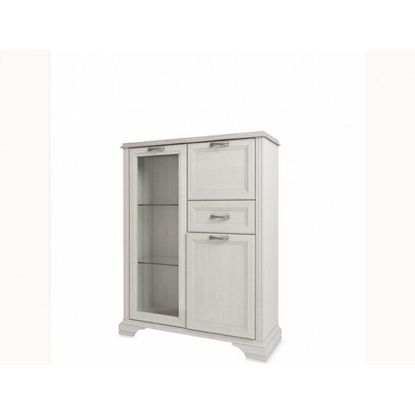 Anrex Monako шкаф с витриной 1V2D1S